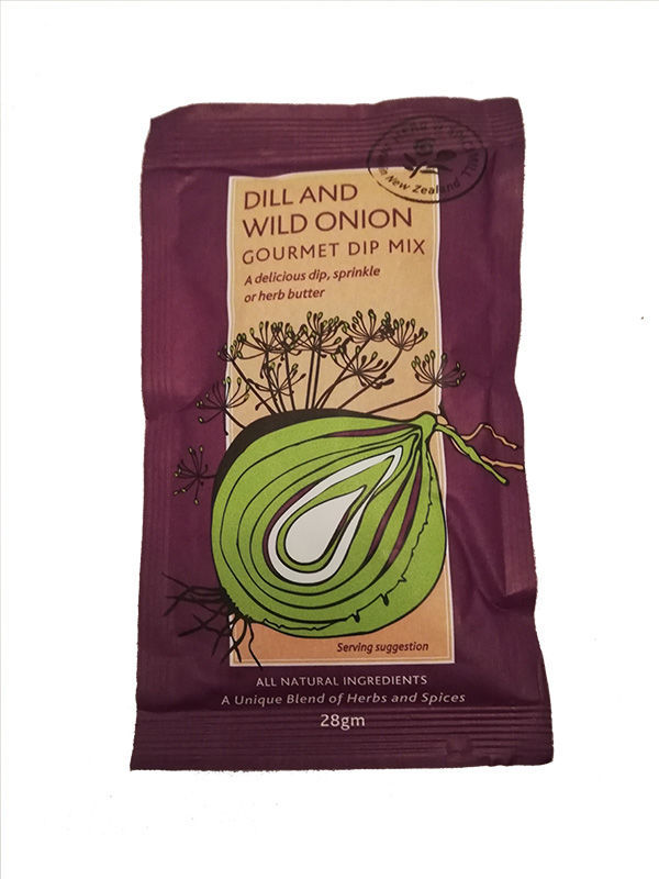 Food gift boxes - Dill and Wild Onion Dip Sachet