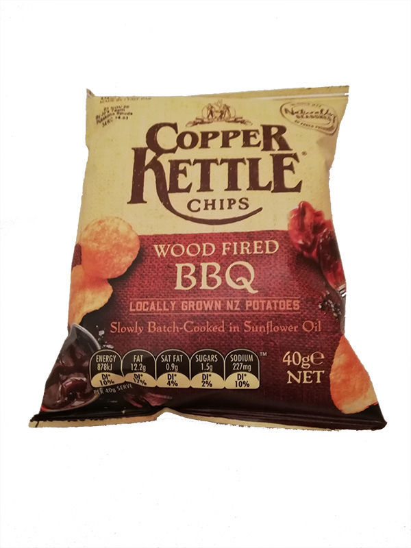 Food gift boxes - Copper Kettle Chips Wood Fired BBQ