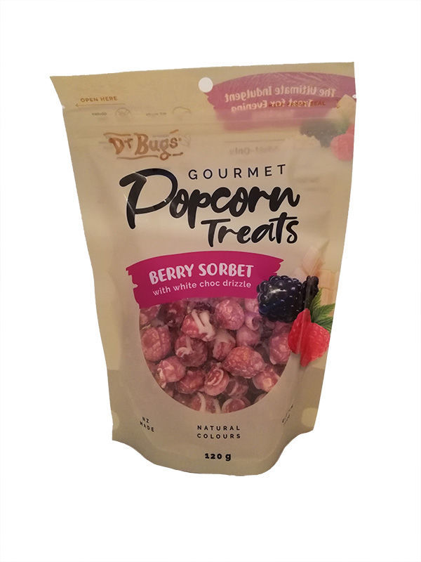 Sweet Treats Gift Box Delivery - Berry Sorbet Popcorn