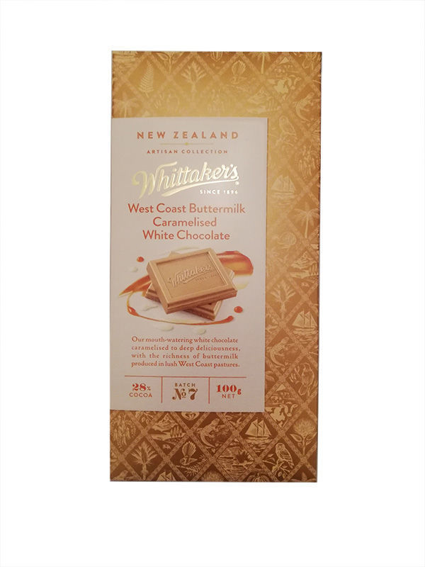 Food Gift Hamper NZ - Whittakers West Coast White Chocolate
