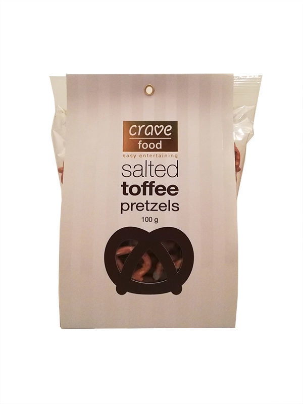 Gift Box For Her - Salted Toffee Pretzels
