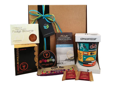 Tea gift box ideas- kiwi taster box